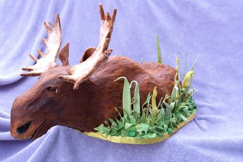 Moose Cake by Tracy Phillips and Sunshine O'Donnell of ...