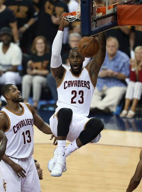 Believeland! The Cleveland Cavaliers dominated the Golden State