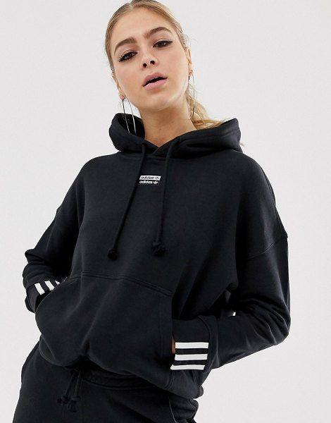 adidas Originals Vocal Hoodie In Black in 2020 | Adidas