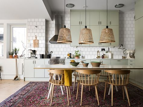 A Swedish Family Home That Sparks Joy | Traditional carpet