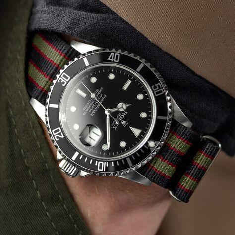 Geckota Genuine Vintage Bond NATO Watch Strap