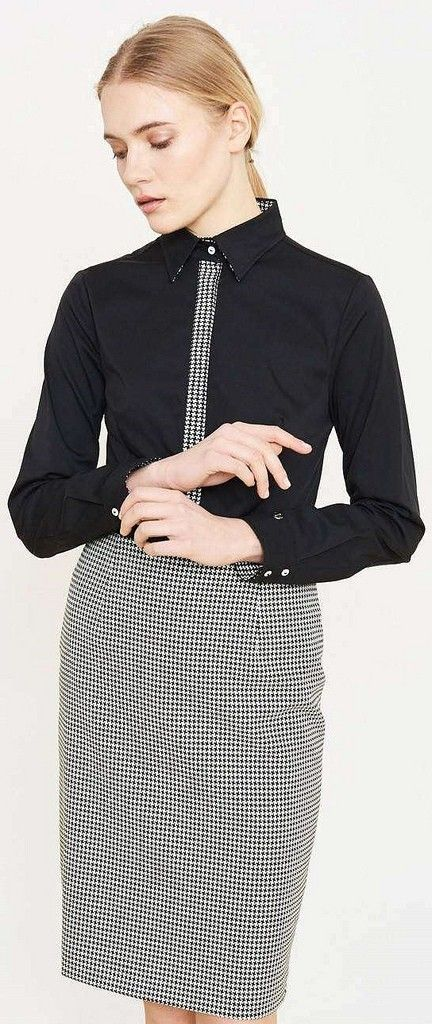 c462fb386a5 Pin by Magik Dragon on Buttoned Up Ladies in 2019 | Button up ...