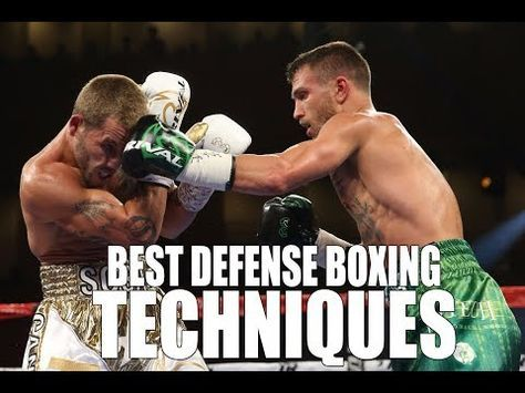 Best Defense Boxing Techniques! - YouTube   Martial Arts