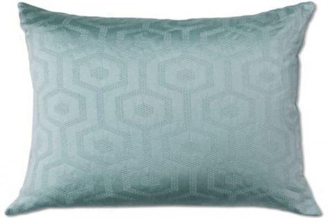 Metro 22x22 Jacquard Pillow, Teal from