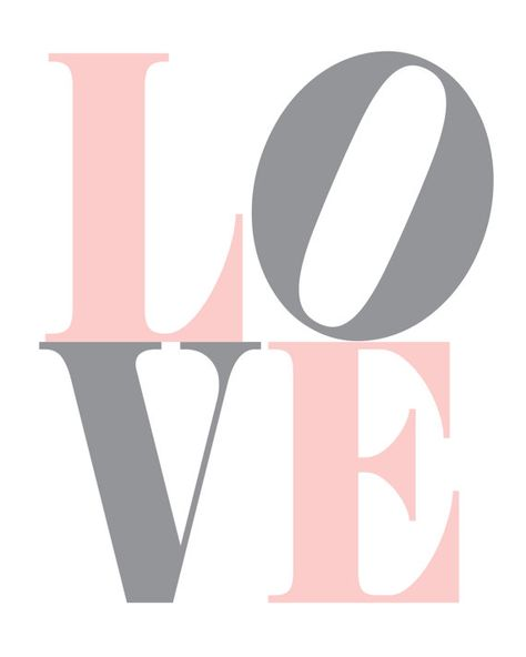 LOVE Wall Decor by KinneyDesigns on Etsy