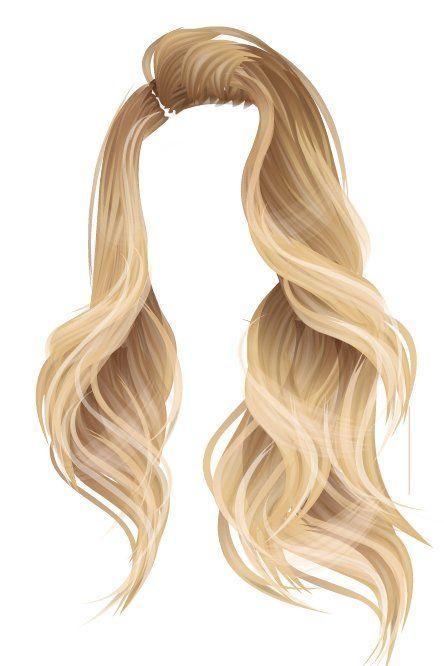 Hair Png Haar Hair Hair Illustration How To Draw Hair Hair Png