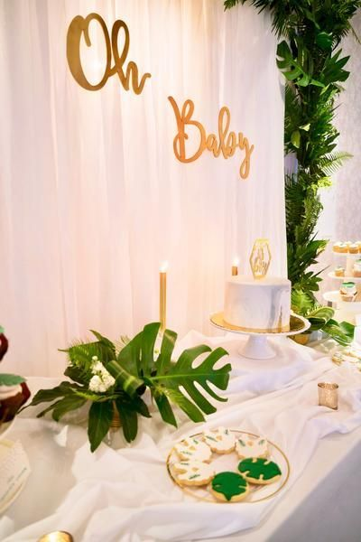 Oh Baby Baby Shower Backdrop Beautiful Decor Idea For Your Baby Shower Pop It When She Pops Babyshower Baby Shower Backdrop Baby Shower Modern Baby Shower