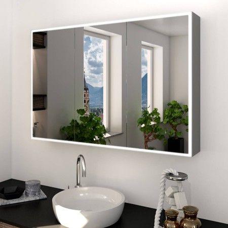 Pin Von Melice Noir Auf Badezimmer Gastetoilette In 2020 Spiegelschrank Spiegelschrank Bad Led Beleuchtung