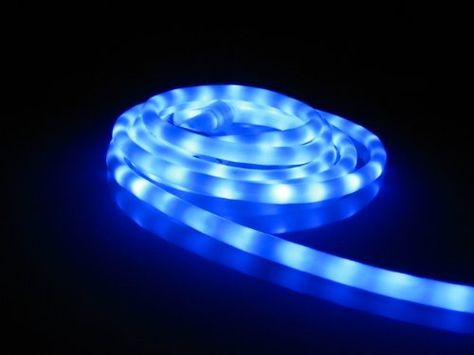 50ft Rope Lights Lavender Blue Led Rope Light Kit 1 0 Led