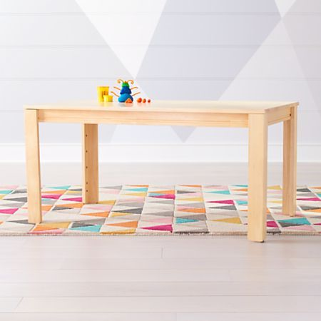 Large White Adjustable Kids Table W 23 Legs In 2020 Kid Table