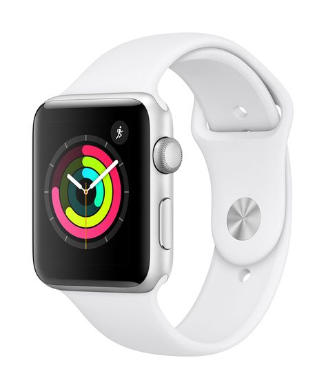 Sell My Apple Watch Series 3 Aluminium Case GPS in Used Condition for 💰 cash. Compare Trade in Price offered for working Apple Watch Series 3 Aluminium Case GPS in UK. Find out How Much is My Apple Watch Series 3 Aluminium Case GPS Worth to Sell. Apple Watch White, Apple Watch Silver, Buy Apple Watch, Smart Watch Apple, Cute Apple Watch Bands, Watch 2, Apple Smartwatch, Apple Watch Series 3, Bracelet Sport