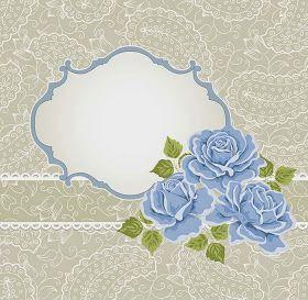 Kaligrafi Gambar Bingkai Bunga Simple | Kaligrafi Indah