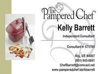 My Husband S Pampered Chef Business Card Go To His Website If You D Like