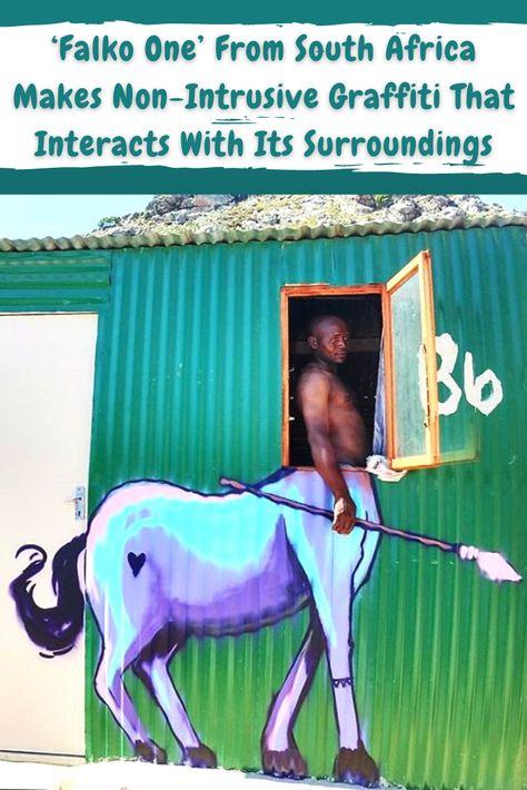 Air Conditioners, Street Art Graffiti, Bored Panda, Disney Art, Color Inspiration, Relationship Goals, Baby Animals, South Africa, Decoration