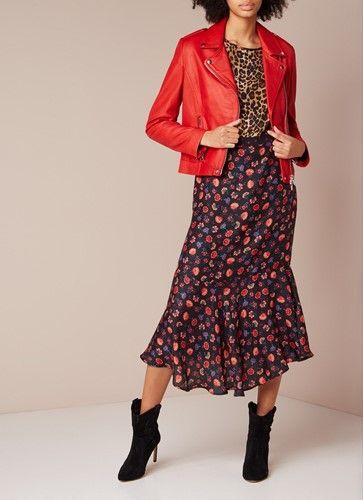 Een leren jas voor elke stijlpersoonlijkheid. | Mouwen jurk