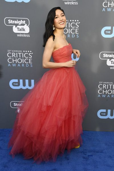 Constance Wu - The Most Daring Dresses at the 2018 Critics' Choice Awards - Photos