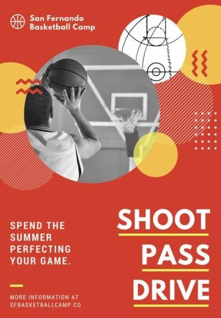 Basket Ball Posters Design Inspiration 25 Ideas Poster Design Kids Simple Poster Design Sports Graphic Design