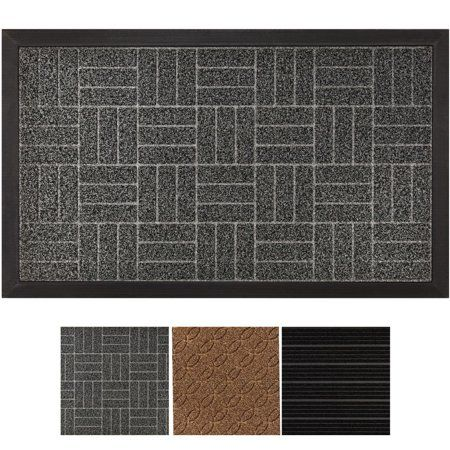 Mat Measures 29 X 17 And Features 1 4 Slimdurable And Safe Absorbs Moisture And Dirt Doormats Ideas Of Doormats In 2020 Rubber Door Mat Outdoor Door Mat Door Mat