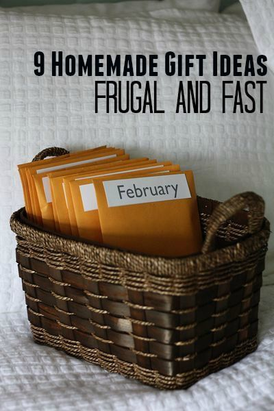 9 Homemade Gift Ideas: Frugal and Fast – for everyone on your list!