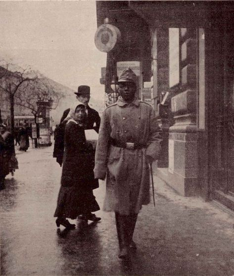 The only black soldier of the Austro-Hungarian Empire, 1915 - Rare Historical Photos