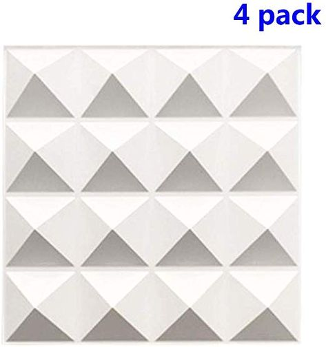Amazon Com Troystudio Acoustic Sound Diffuser Panel Multiple Colors 12 X 12 X 1 Pack Of 4 White Musical Instruments Sound Panel Sound Studio Foam