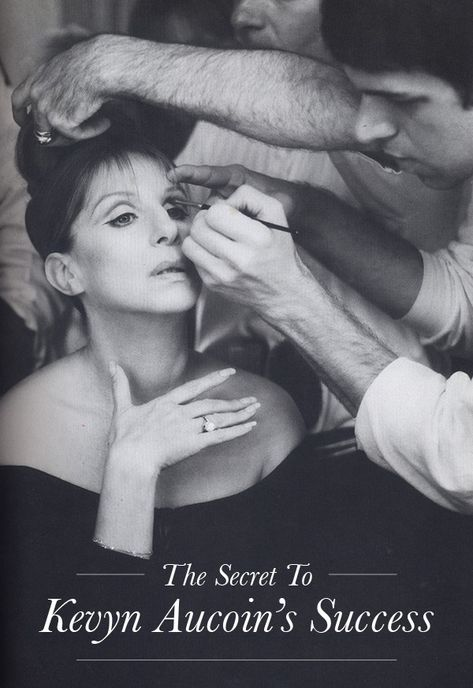 The greatest makeup artist that ever lived. The Secret To Kevyn Aucoin's Success.