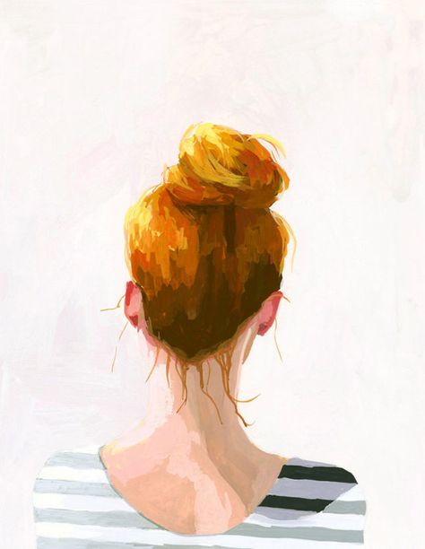 Made Us Look: Beautifully Illustrated Topknots and Braids | Brit + Co