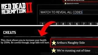 EVERY Cheat Code in Red Dead Redemption 2! (ALL CHEAT CODES
