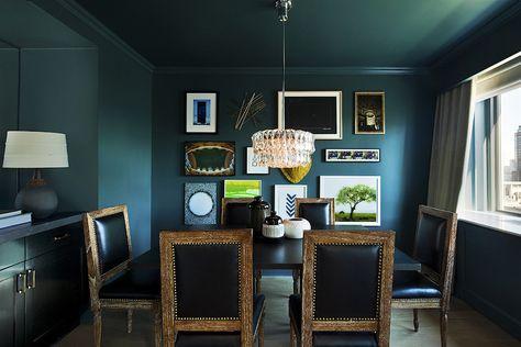 Exclusive: Tour Nate Berkus' Luxurious New Hotel Design via BM Yorktown Green - amazing paint color