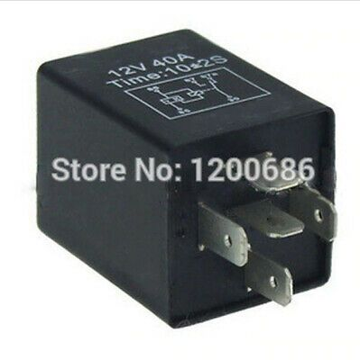 Details About 30a Automotive 12v 5 Pin Time Delay Relay Spdt 10 Second On Delay Relay 3 Second In 2020 Relay Automotive Hide Wires