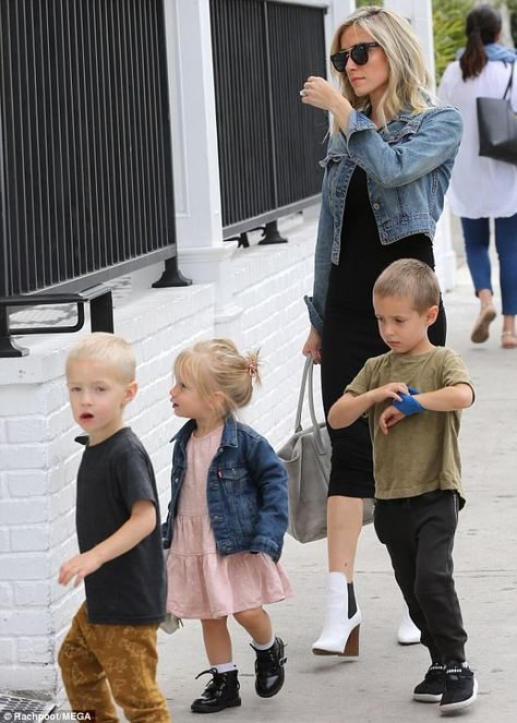 Giving her kids a treat! Kristin Cavallari takes children for fudge is part of fitness - Hopefully she bought just enough to give her kids a treat For Kristin Cavallari was spotted taking her children for fudge in Los Angeles on Thursday