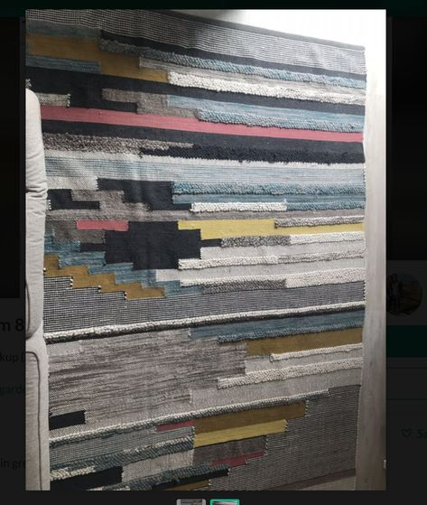 West Elm 8x10 Rug For In