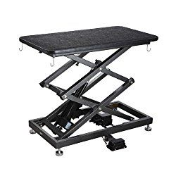 Comfortgroom Accordion Lift Electric Pet Grooming Table Review Buyer S Guide Adjustable Height Table Dog Grooming Table Frame