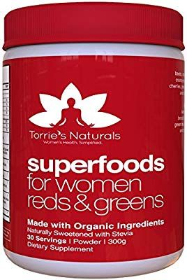 Amazon Com Vital Red And Green Superfoods For Women By Torrie S