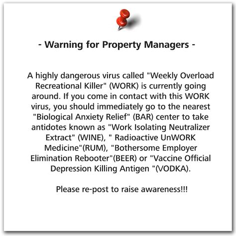 A warning for Property Managers! #propertymanagement Property - property management job description