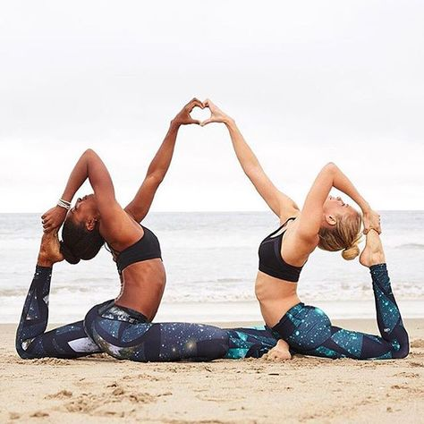 Tag your friends  @koyawebb & @nikkisharp via @aloyoga