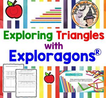 Exploring Triangles With Exploragons Partner Station Triangle Inequality Theorem Triangle Inequality Theorems Order Of Operations