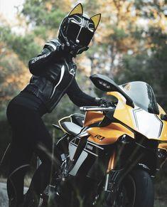 Black Panther Hcj Rp Biker Motorcycle Anime Motorcycle Biker