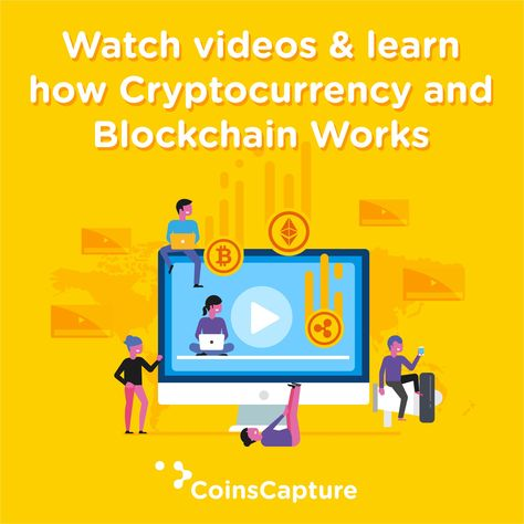 Watch Videos & Learn how #cryptocurrency and #blockchain works