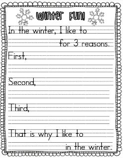 Common Core Snowy Reading (with a freebie)