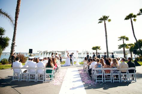 Paradise Terrace wedding venue in San Diego at Paradise Point Resort & Spa. #WeddingVenues