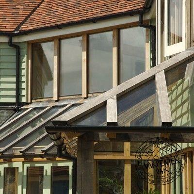 glazed roof detail balcony pinterest timber frame houses