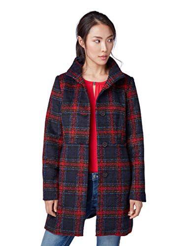 Jackets Für Frauen Mantel Tom Tailor Gemusterter Jackenamp; Nyvmn80Ow
