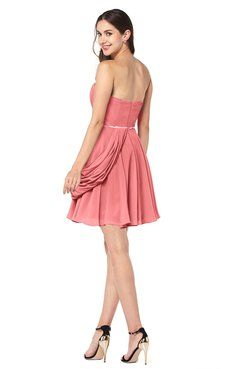 ColsBM Noelle Coral Bridesmaid Dresses - ColorsBridesmaid