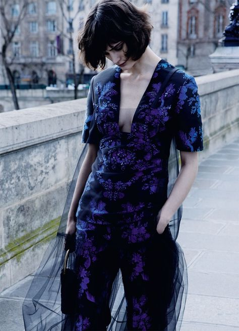 Forward Thinking: Sibui Nazarenko by David Roemer for Marie Claire UK July 2016 - Pre-Fall 2016
