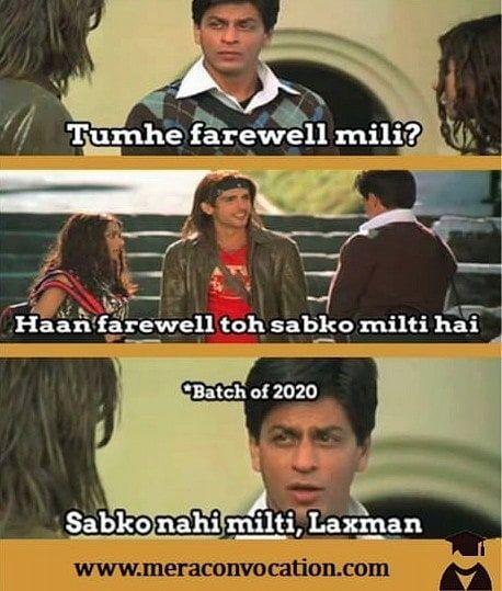 Class Of 2020 Tag That Convocation Buddy Meme Memes Bollywoodmeme Bollywoodmemes Classof2020 Cla Bollywood Memes Desi Memes Graduation Meme