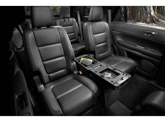 Console For 2nd Row 2018 Explorer Sport Ebony Redline Ford