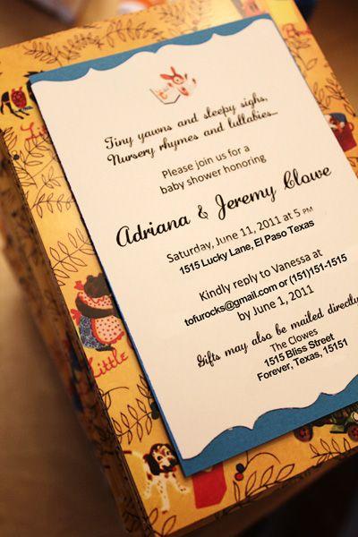 Little Golden Book Shower Invitation nathan Golden book baby