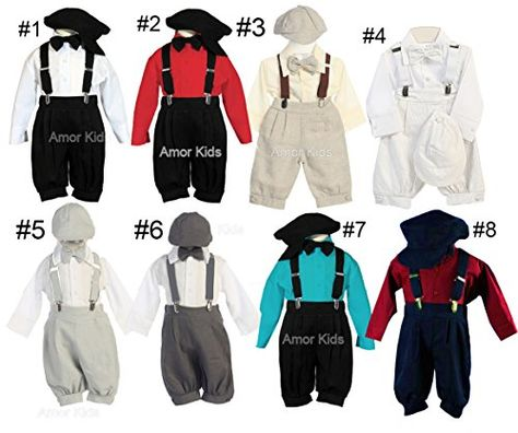 e0233bb9862e Vintage Baby Toddler Boys Knickers Suit Set Black White 18M    Check ...
