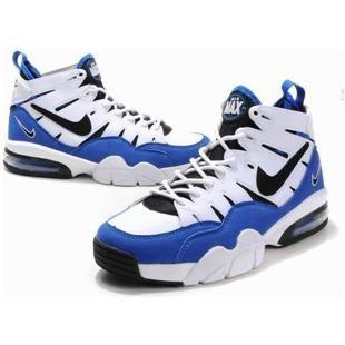 http://www.asneakers4u.com/ Charles Barkley Shoes Nike Air Trainer Max 2 94  White/Blue/Black | Charles Barkley Shoes | Pinterest | Nike air, Trainers  and ...
